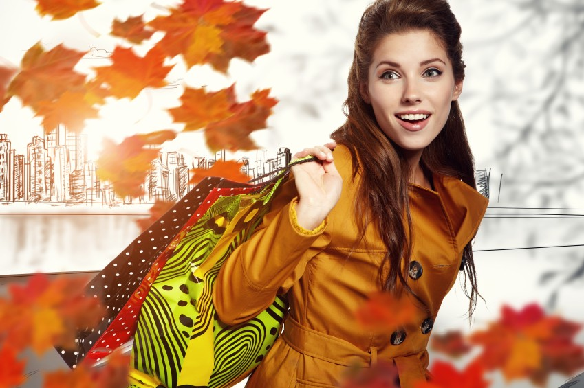 Jesenné nákupy v OC Triada